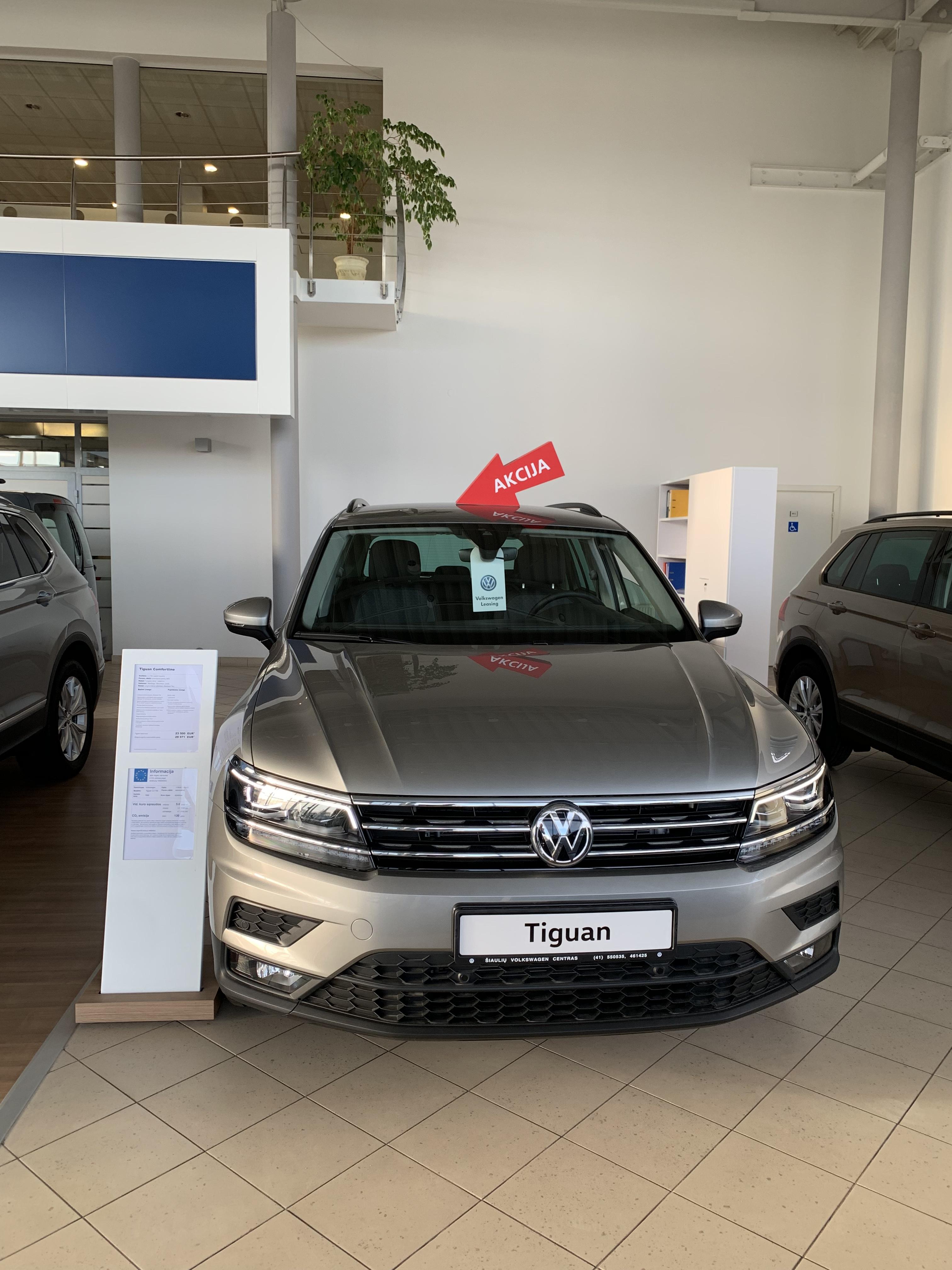 Volkswagen Tiguan 2.0TDI 110kW DSG-7 - REZERVUOTA